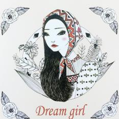 Secret Garden Dream Girl 2016 New An Inky Treasure Hunt AndColoring Book For Children Adult Relieve