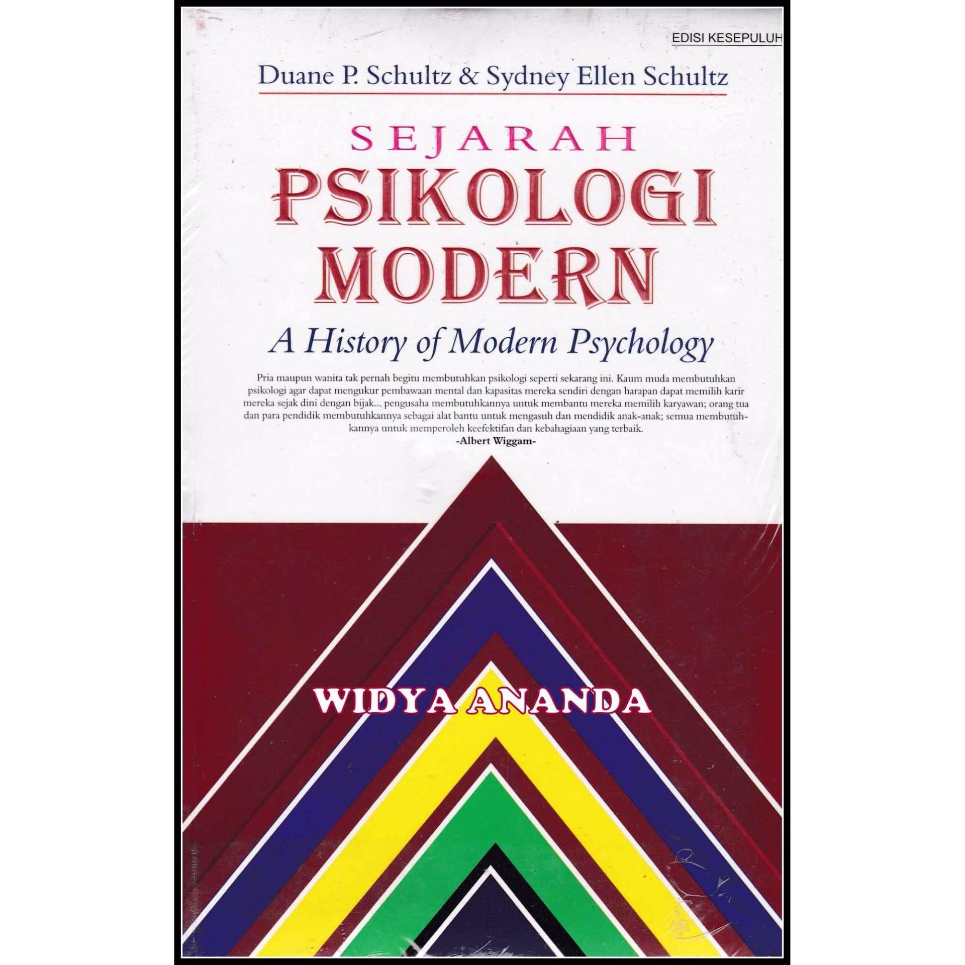 Sejarah Psikologi Modern - A History Of Modern Psychology