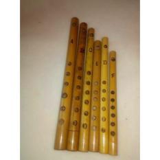 Seruling bambu / seruling dangdut harga sepaket