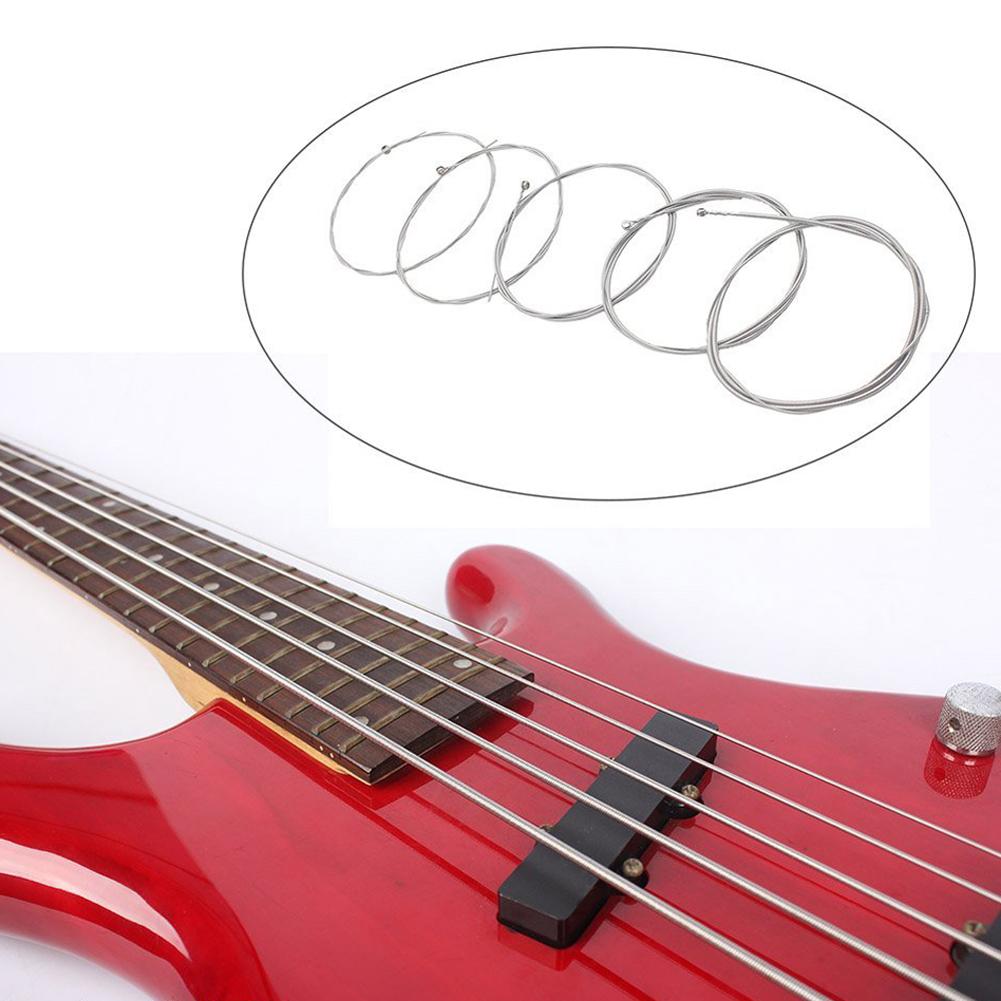 ... Set 5 senar baja untuk 5 senar gitar bass ...