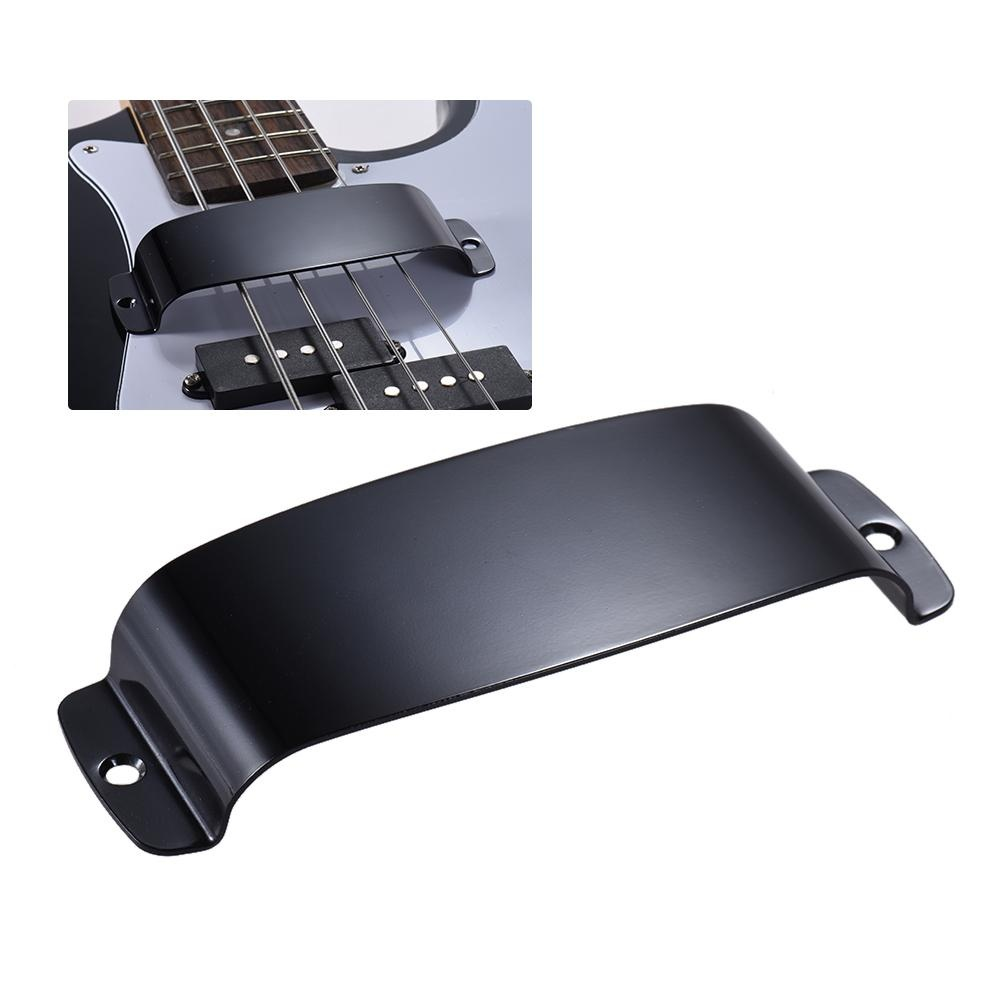 Steel Pickup Cover Protector for 4-string Jazz Bass Electric Bass Guitar .