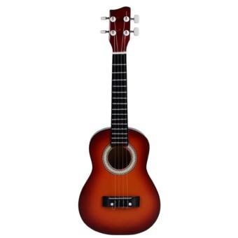 Detail Gambar Ukulele Kentrung Mini Gitar Guitar Kecil Alat Musik 4 Senar CT dan Variasi Modelnya