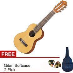 Yamaha Mini Gitar GL - 1 - Natural + Gratis SoftCase + 2 Pick