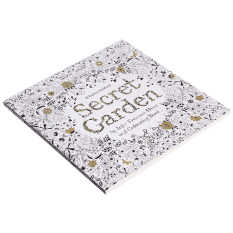 Yingwei Coloring Book Secret Garden 96 Pages English