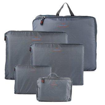 Bags in Bag Travel Set 5 in 1 - Abu-abu - 2 ...
