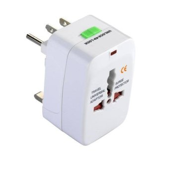 Harga Dbest Travel Adaptor All in One - Putih
