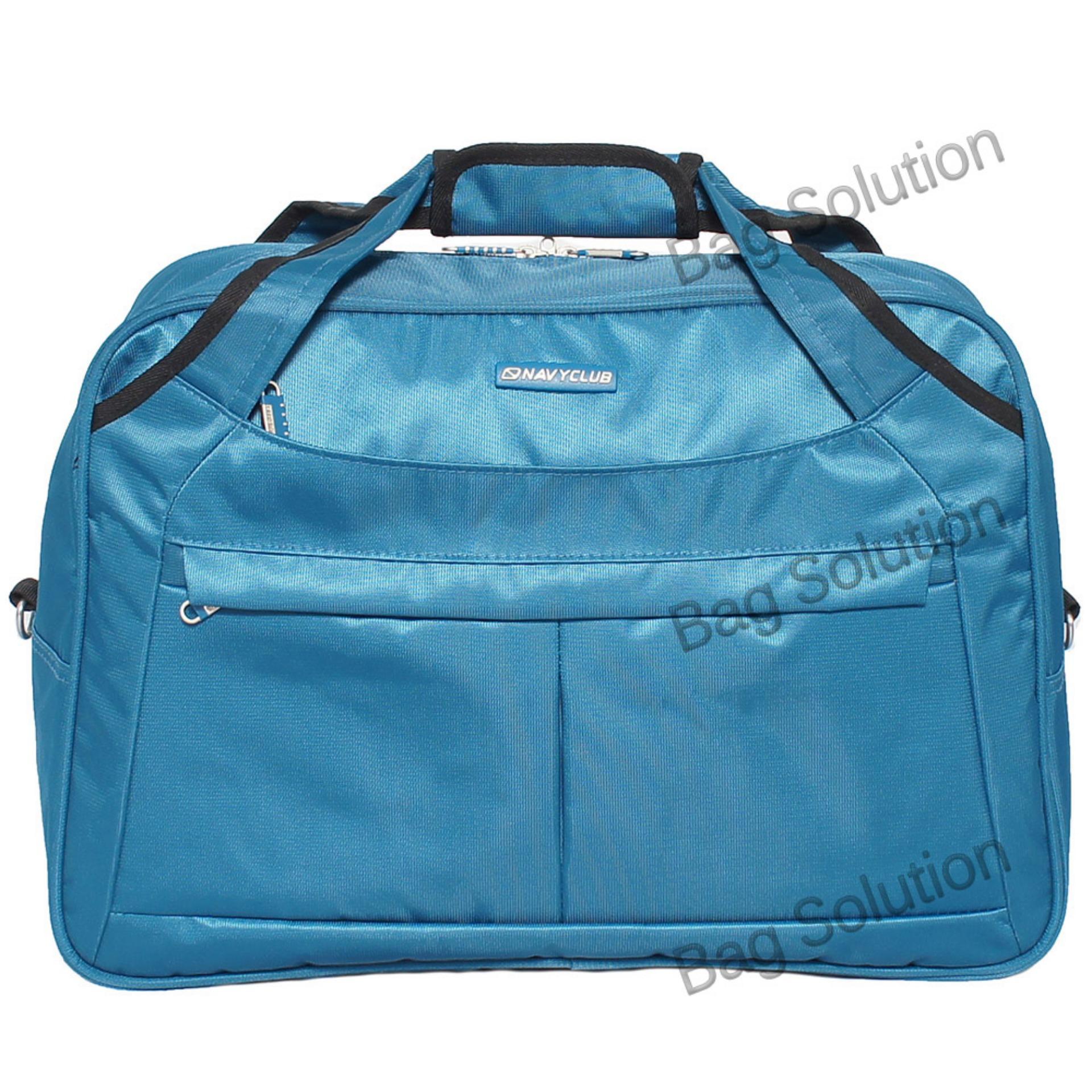Kianuticket Airlines Tas Travel Bag Backpack Eibag 602 Abu Navy Club Duffle Pakaian Pria Wanita