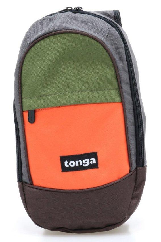 Tonga 32AC004508 Cross Body Bag - Cokelat-Abu