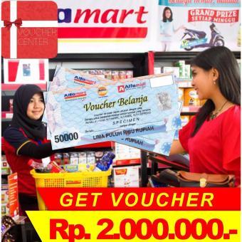 Alfamart Voucher Rp 2.000.000,-