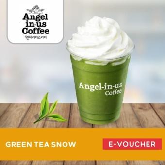 Angel in us Coffee GREEN TEA SNOW
