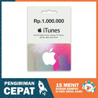 Apple iTunes Gift Card Region Indonesia - 1.000.000
