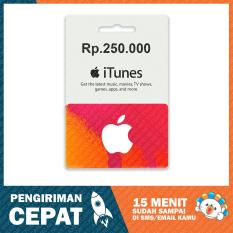 Apple iTunes Gift Card Region Indonesia Rp. 250.000