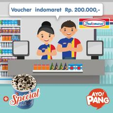 [BUNLDE] Indomaret value Rp200.000 + 1 Ice Cream Tornado Lotteria