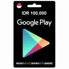 Google Play Gift Card - IDR 100.000 - Digital Code