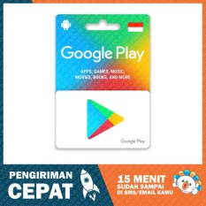 Google Play GiftCard Indonesia - Rp. 50.000,-