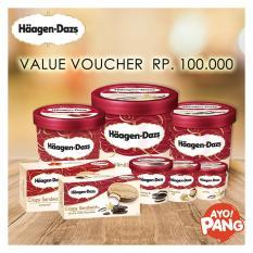 [HAAGEN DAZS] Voucher Value Rp100.000