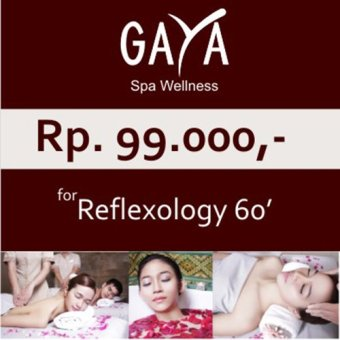 Harga Gaya Spa Voucher Reflexology