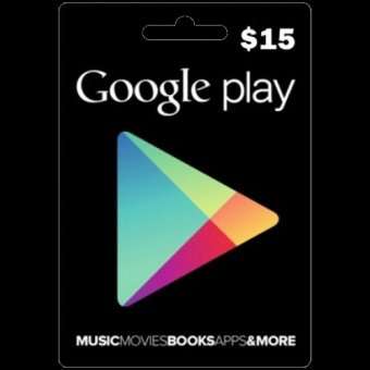 Harga Google Play Card U.S 15$
