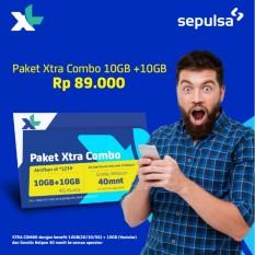 Kartu Perdana & Paket XL 10GB + 10GB