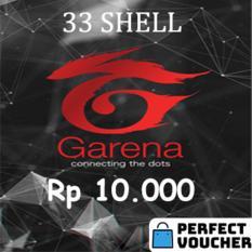 Voucher Garena 33 Shell (10.000)