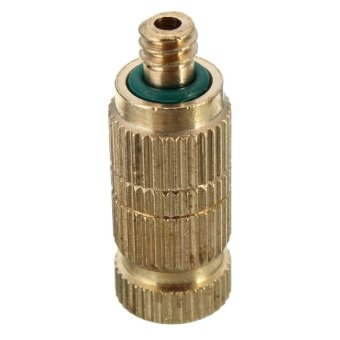 10pcs 0.3mm Brass Misting Nozzles for Cooling System Humidification Sprayer - intl ...
