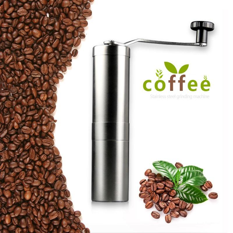 ... 1pcs Stainless steel coffee bean grinder kitchen Abrasives / manualgrinding and milling machine Cooking Tools ...