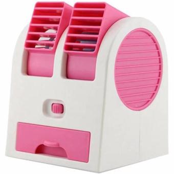 AC Mini Fan Portable USB Super Dingin - Pink