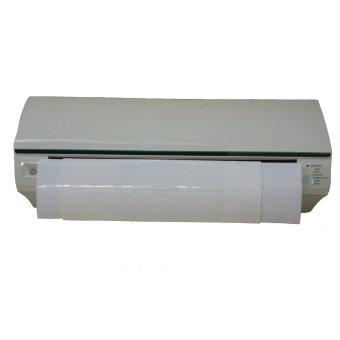 air conditioning air screen cover penahan hembusan ac – putih
