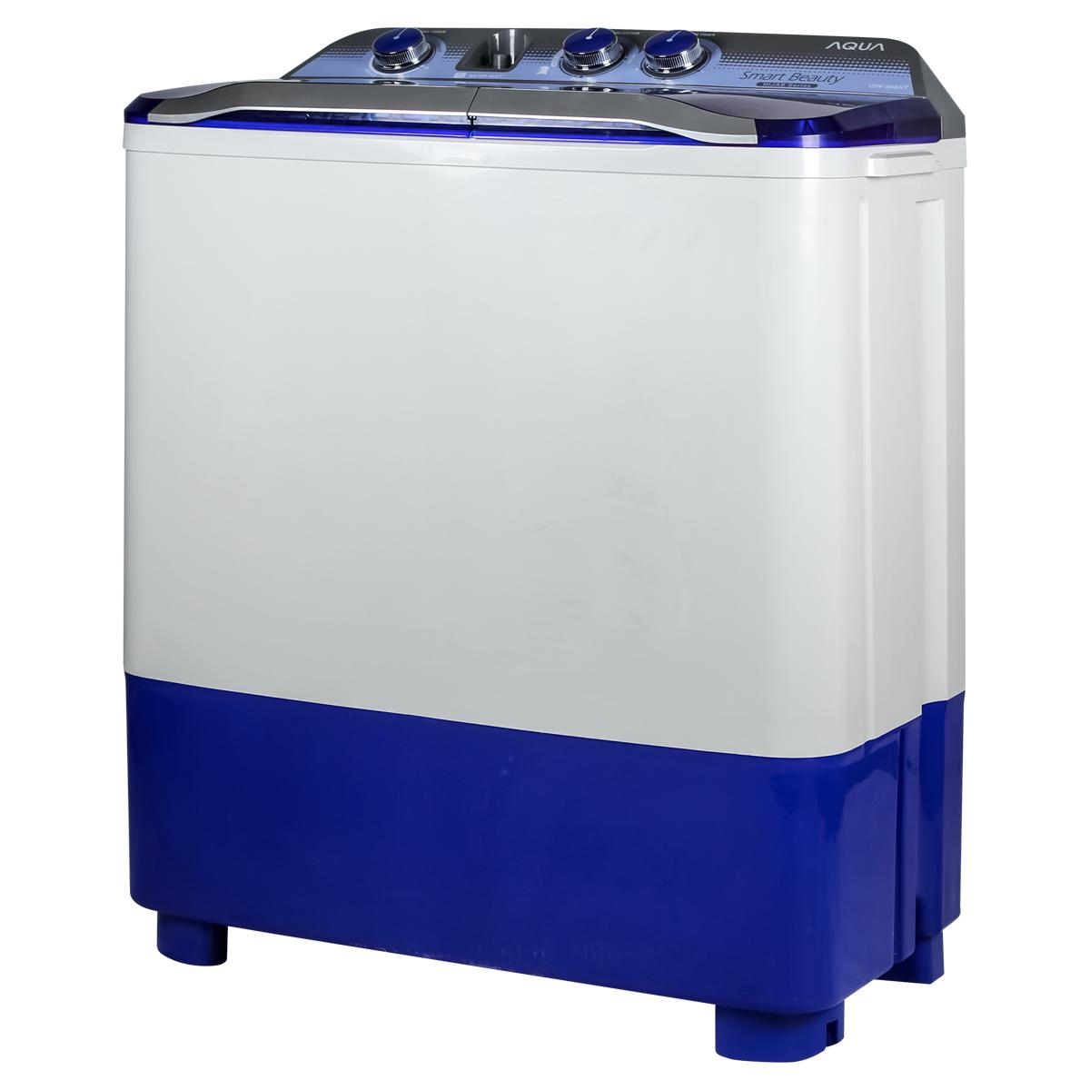 ... Aqua QW 880 XT Mesin Cuci 2 Tabung Putih Biru - Khusus Jabodetabek ...