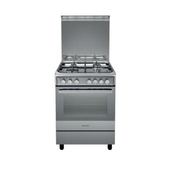 Ariston Kompor Freestanding A6 TMH 2AF (X) EX NEW MILAN - Stainless-steel
