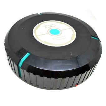 Auto Cleaner Robot Sweeping Cleaning Machine / Mesin Penyedot Debu- (Black)