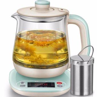 Bear health pot YSH-A08H1 multifunctional insulation glass kettle0.8L capacity (Light green