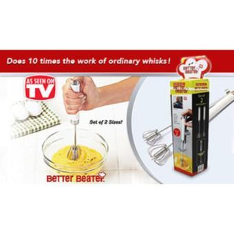 Better Beater Hand Mixer Set of 2pcs/Manual Mixer/Pengocok Telur