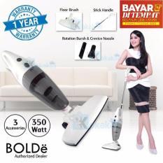 BISA BAYAR DI TEMPAT Bolde Super Hoover Vacuum Vacum Cleaner Vakum Penyedot Penghisap Pembersih Debu Grey T Original