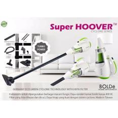BOLDE BIG PROMO Super Hoover Vacuum Cleaner Germany - Alat Penyedot Vacum Vakum Debu Abu - Putih Hijau