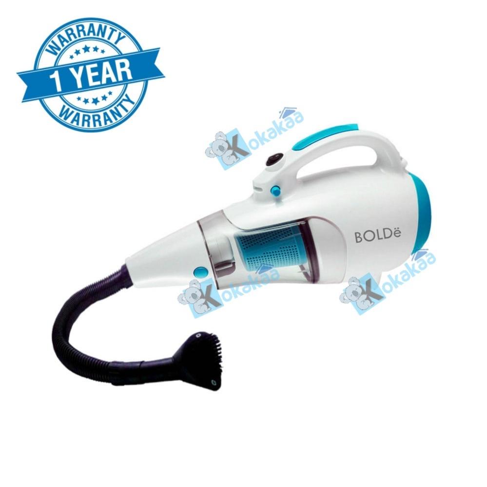 Bolde Turbo Hoover Vacuum Cleaner 110 with Elastic Hose & Blower Bundle - Putih-Biru