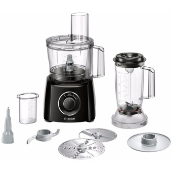 Bosch MCM3501MGB 800 Watts Food Processor in Black & Brushed Stainless Steel