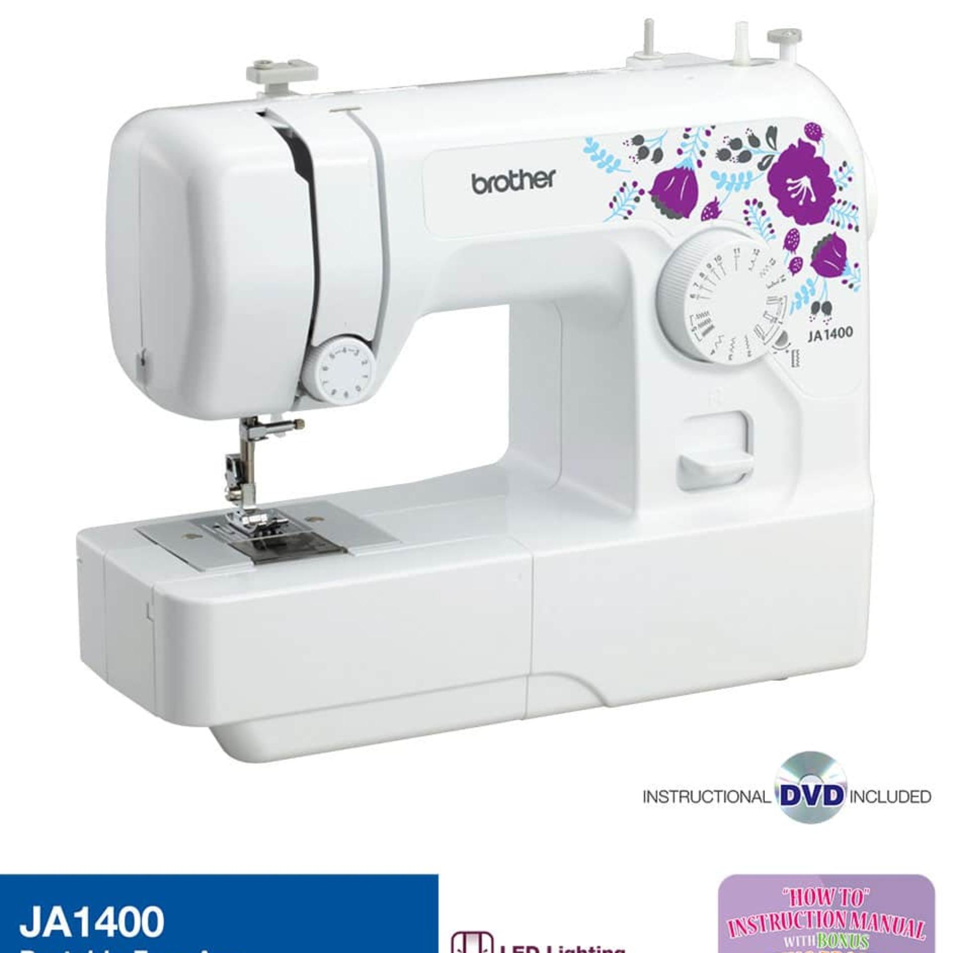 brother ja1400 home sewing machine