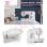 Butterfly JH 5832A Mesin Jahit Portable + Gratis Starter SJS Kit