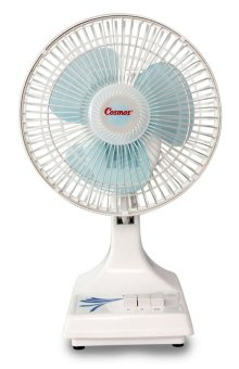 Cosmos 7KV Desk Fan 2 in 1 / Kipas Angin Meja 9 inch - Putih