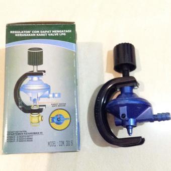 Destec COM 201 S Regulator Gas LPG Anti Bocor / Double Protection - 2