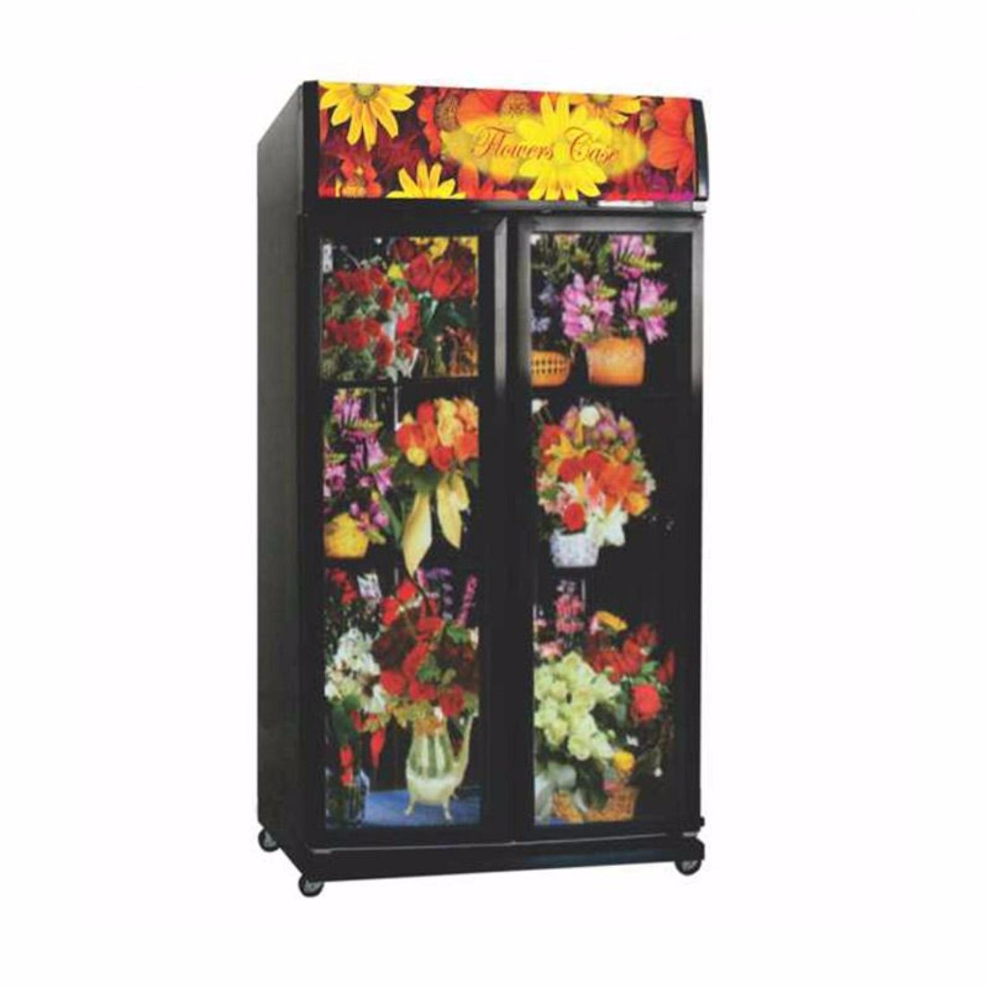 Gea Expo 37fc Display Cooler Showcase 282 Liter Silver Khusus Modena Sc 1281 280 Hitam Jabodetabek Flash Sale Flower 1050f