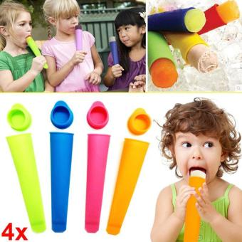 DIY Popsicle Molds and Ice Pop Silicone Maker - intl