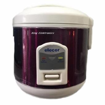 Elecor rice cooker,magic com,magic jar 1L - Ungu