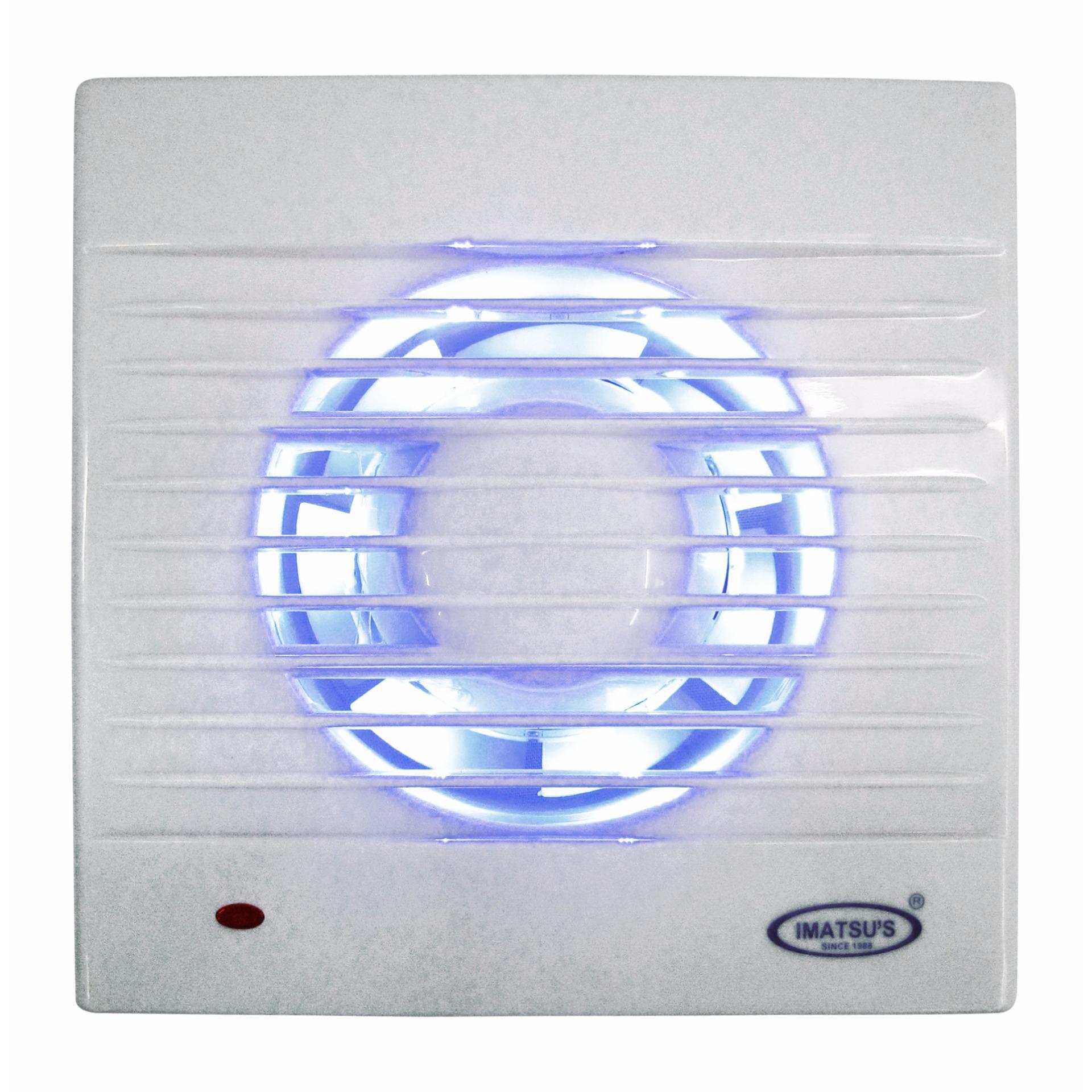 Exhaust Fan Imatsu APC12C2 With LED 5 Inch Rumah Toilet Dapur Restoran Udara Hisap Angin Nyaman