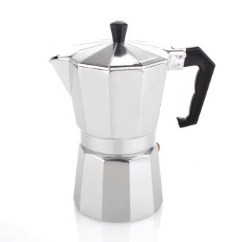 Gaharu Moka Pot Stainless Steel 4 Cup