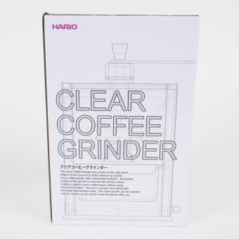 Hario Clear Coffee Grinder - 4