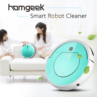 Homgeek Automatic Robotic Vacuum Cleaner Smart Sweeping Machine Intelligent Pets Hair Floor Cleaner Cleaning Robot with Remote Control - intl