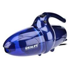 Idealife IL-130 Hand Mini Vacuum Cleaner & Blower - Biru