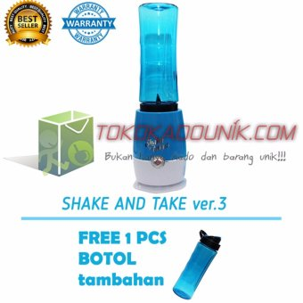 Harga Shake N Take 3 Biru Free 1 Extra Bottle